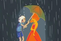 Adventure time / Flame princess is fav!!!