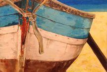 Beach and Sea Paintings