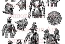 Stroje średniowiecze / Zbroje,