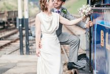 12 Travelling steamtrain picnic wedding