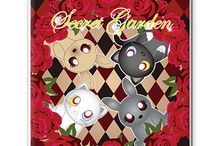 secret garden ~雑貨など~ / secret gardenのキャラクターがいろいろなアイテムになりました。