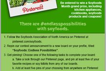 Soyfoods Pin to Win / There are #endlesspossibilities with soyfoods. / by Soyfoods Association of North America