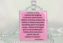 P I N K / What's a girl without pink in her life! / by Tanyel Simon