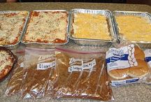 freezer meals / Recipes exclusively for one-a-month/plan-ahead/freezer cooking