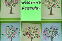 wiosna/spring kids craft