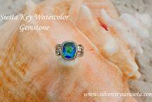 Siesta Key Beach Pics / Siesta Key Watercolor Gemstone Photos