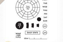 Planner Addict / planners & organizer aka procrastinator enablers