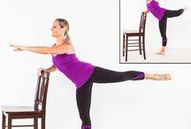 Barre workout / Gym, workout, fitness, sport