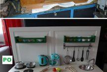 DIY kuchynka