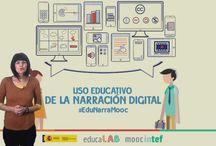 #EduNarraMooc / Webgrafía imprescindible del MOOC Uso educativo de la narración digital de Educaba Intef