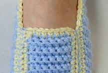 Crochet/shoes