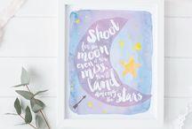 Lavender Girls Room or Baby Girl Nursery