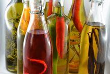 Essig, Öl und Essenzen