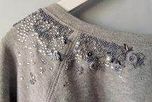 embroidery, embellishment, beading