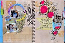 Art journaling, mixed media / by Sharmaine Burton