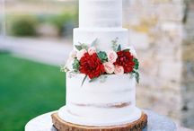 Red + Burgundy Weddings