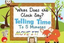 Math:  Telling Time