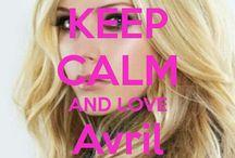 <3 Keep calm: Avril Lavigne <3 / Este tablero lo he creado para tener todos los Keep calms de Avril Lavigne :)