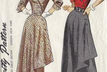 Мода 50-х гг