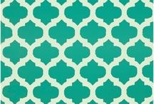 Design Trend: Lattice & Trellis Prints / Lattice & Trellis patterns are classic and spot on with current design trends!