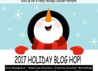 AC ~ Holiday Blog Hop 2017! / FREE Crochet holiday patterns every Tuesday, Thursday & Saturday Starting the 8th of July visit us for a Free Holiday Crochet Pattern!