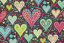 Hearts ❤❤❤❤ / Love hearts ❤️❤️ / by Laura Diana-Garratt