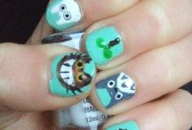 Oma nail art