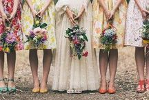 Bridesmaids / Bridesmaids dresses, flowers, stuff :) / by Una Walsh