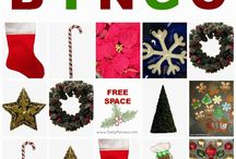 BINGO, Tic Tac Toe, Puzzles / Different Bingo, tic tac toes, and puzzles. I thought it would be easier to have all in one place, although the Holiday themed ones are still in the holiday folders too! / by Sarah (Daily Messes)