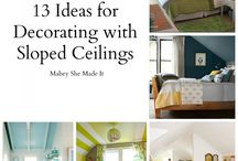 Slopped ceilings ideas