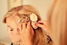Wedding hair ideas / Up down do's