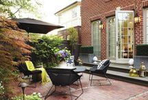 Backyard/Patio / by Morgan Roberie Singer
