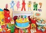 Yo Gabba Gabba Party / Party down with DJ Lance Rock and friends with this awesome theme!
