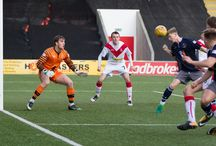 Airdrieonians 30 Sept 17 / Pictures from the Ladbrokes League 1 game between Airdrieonians and Queen's Park. Match played at the Excelsior Stadium on Saturday 30 September 2017. Airdrieonians won the game 4-2.