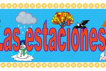Las estaciones/Seasons / The Learning Patio is a subscription website for printable dual language materials.Become a member and have access to 1000's of pgs.  International Subscriptions are welcomed and processed through Pay Pal   Visit our partner site Bilingual Planet  www.bilingualplanet.com
