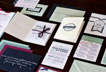Kartu Undangan Pernikahan Vintage Letterpress Yang Elegan