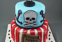 Gâteaux thème pirate