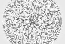 Mandala Bilder - Skizzen