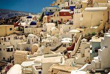 Photo In Photo - Travel in Santorini