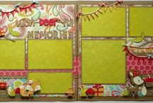 Scrapbooking - Layout Sketches