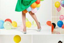 Balloon photoshoot  / by Michelle Goodall