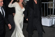 Angelina Jolie with Brad Pitt