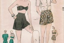 Vintage beach and resort wear / by Jennie Clements