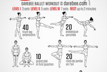 workout and exercises
