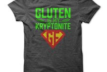 Gluten Free Fashion / Tee Shirts and other clothes that spread gluten free awareness
