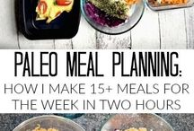 Paleo Meal Planning / paleo meal planning, easy paleo recipes, quick and easy dinner, what's for dinner, healthy dinner recipes, meal planning tips.