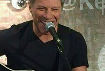 In Soho, New York City, February 12, 2015 / Jon Bon Jovi at the Kenneth Cole.  Acoustic Concert