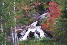 Duchesnay Falls / Duchesnay Falls in North Bay, Ontario, Canada