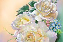 Картины роз