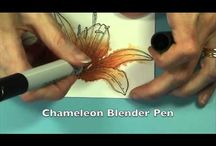Chameleon Markers / by Texana Designs - Jimmye Sue Mitchell